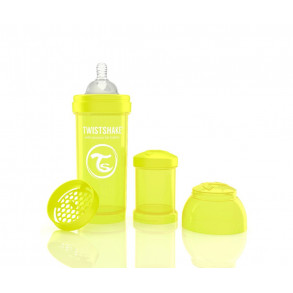 TwistShake Biberón  260 ml Amarillo