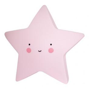 Lámpara Estrella Rosa