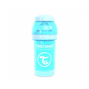 TwistShake Biberón 180ml Azul Pastel