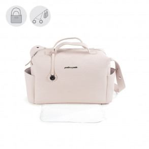 Bolso Canastilla Biscuit Rosa
