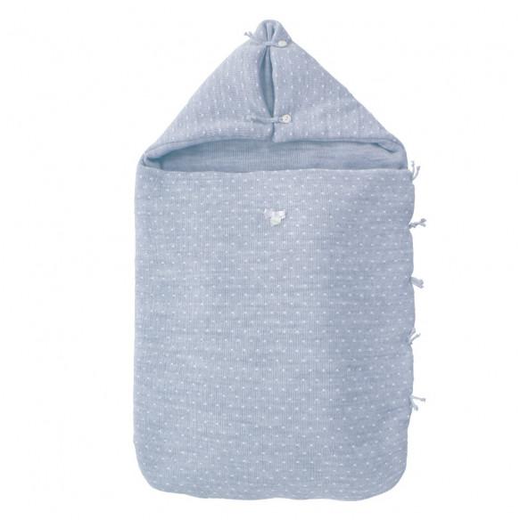Saco Capazo M5 Punto Azul