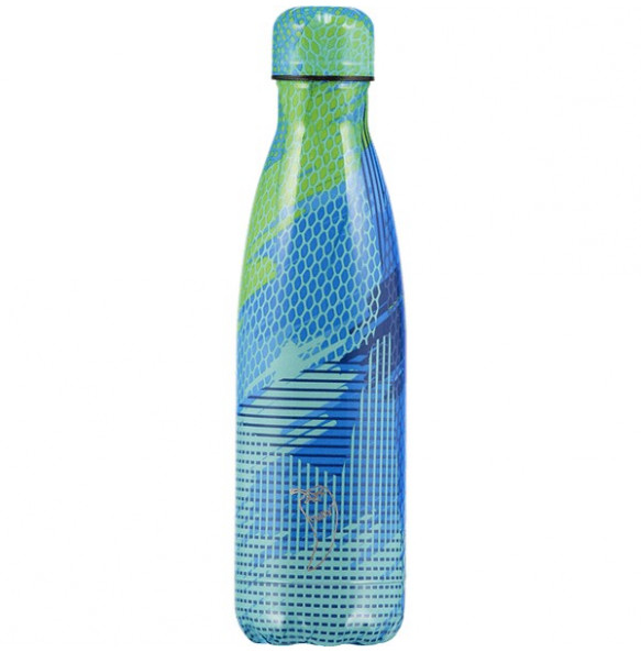 Termo Chilly Abstract Azul 500 ml