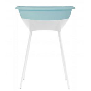 Bañera Set Higiene  Mint y Blanco
