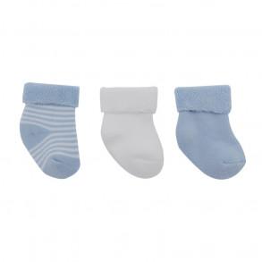 Calcetines Bebé Azul 3 unidades