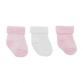 Calcetines Bebé Rosa 3 unidades