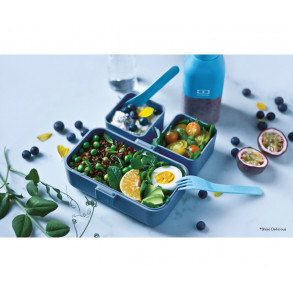 Caja de Almuerzo Tresor Azul