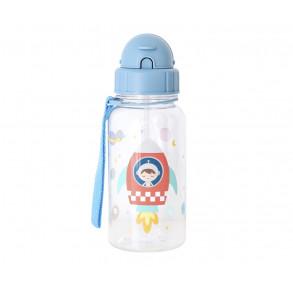 Botella Con Pajita Astronauta