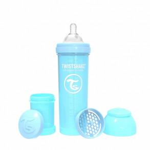 Biberón TwistShake 330 ml Pastel Azul