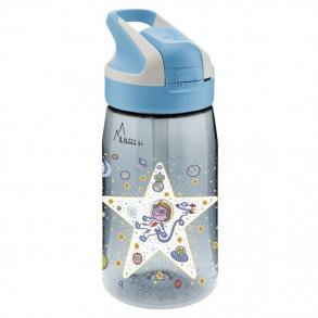 Botella con Pajita de Tritá;;;n Astronauta