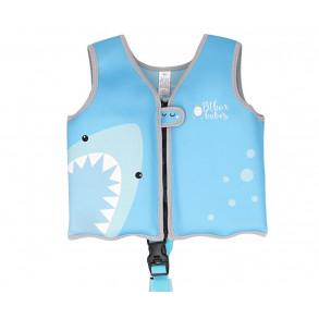 Chaleco Natación Tiburón Azul Talla 14 a 20 Kg