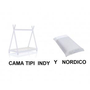 Cama Tipi Indy  y Nórdico
