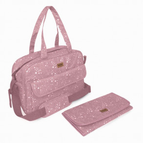 Bolso Maternal Cambiador Weekend Rosa