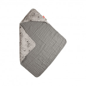 Capa Muselina Sea Friends Gris
