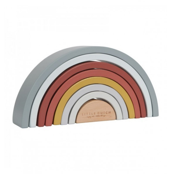 Arcoiris Madera Apilable Colores