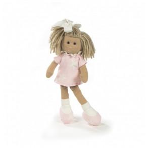 Muñeca Marta 38 cm Vestido Rosa Con Estrellas